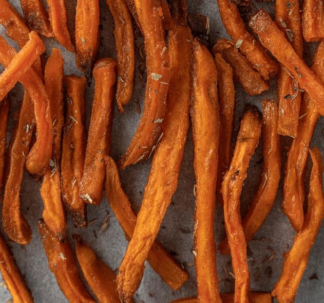 Wie lange sind Süßkartoffelpommes haltbar?