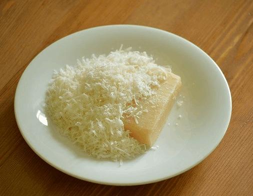 Geriebenen Parmesan aufbewahren