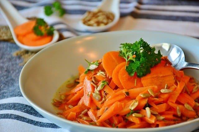 Karottensalat Haltbarkeit
